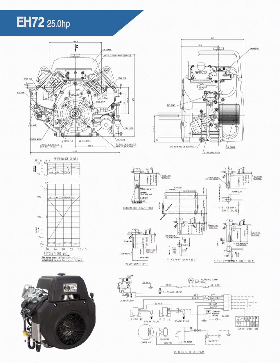 Eh72 Small Ohv V Twin Engine Technical Information Subaru Fuel Pressure Diagram