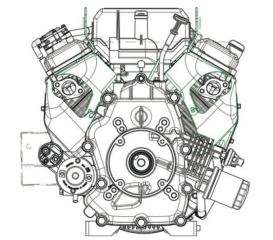 small ohv v twin engine features subaru Twin Turbo Intercooler Diagram subaru s two new big block v twins meet a growing demand for larger air cooled gasoline engines increased power for a wider range of applications