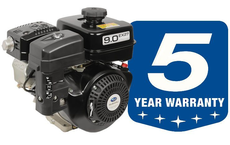Subaru EX OHC Samll Gas Engines with a 5 year Warranty